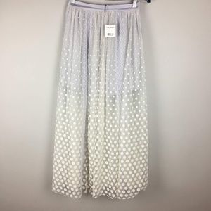 a7da2c356c Free People Skirts - free people dreaming of you tutu tulle maxi skirt